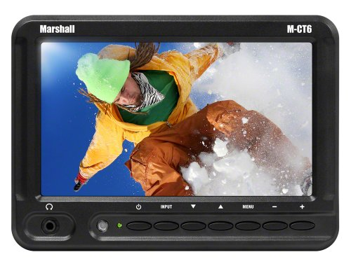 M-CT6-CE6 Camera Top Monitors (Black) (Marshall Lcd Hd Monitors)