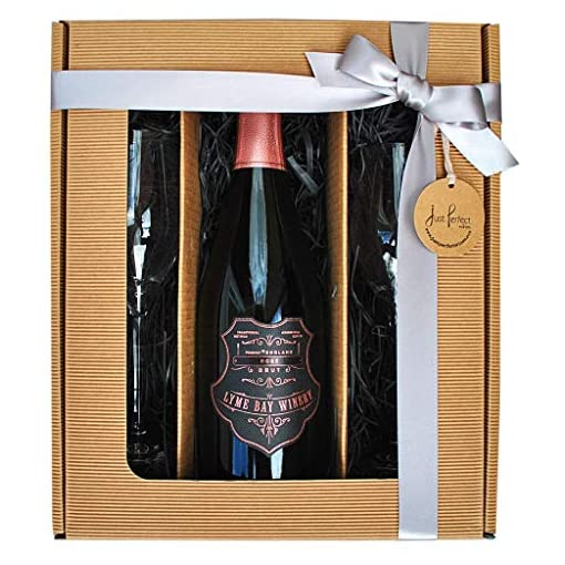 51ntxY en9L Lyme-Bay-Winery-Premium-Rose-Sparkling-Brut-English-Sparkling-Wine-750-ml-Gift-Set-with-2-Spiegelau-Fizz-Glasses-Gift-Box