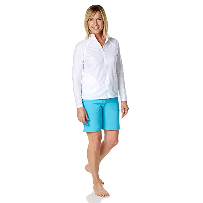 aec81271ea3 UV SKINZ Women's UPF 50+ Board Shorts - Sun-Blocking Swim Shorts for Women  at Amazon Women's Clothing store: