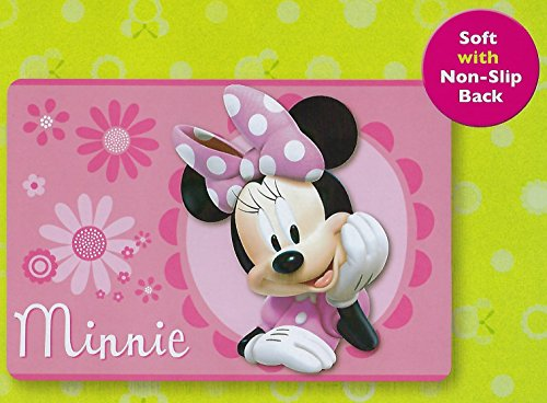 Large Disney 54''x80'' Extra Soft Non-Slip Back Area Rug (Pink Minnie Mouse) by S.L Home Fashions INC (Image #3)