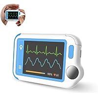 ViATOM HeartMate ECG-monitor met pc-rapport, draagbare atriale fibrillatiemonitor, aritmie / vroegtijdige hartslag…