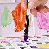 Filbert Paint Brushes Set, 12 PCS Artist Brush for
