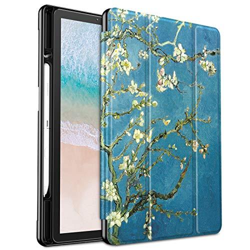 Infiland Samsung Galaxy Tab S4 10.5 Case, Slim Tri-Fold Case