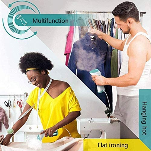 SXZZ Handheld Clothing Steamer, Fast Heat-Up, Portable Garment Steamer, Fabric Steamer for Home And Travel, Wrinkle Remover, Cleaner