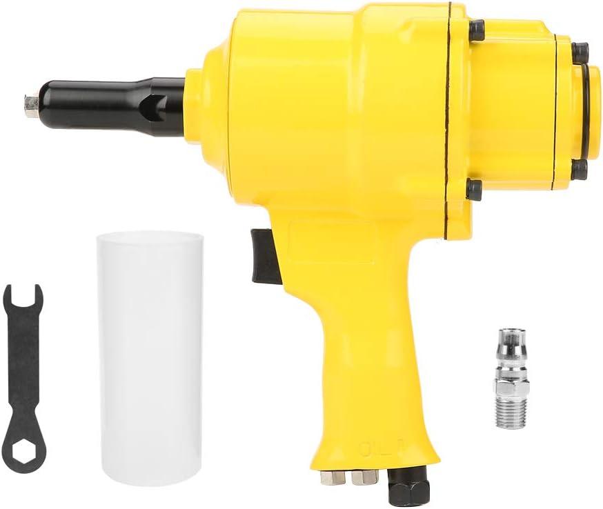 Akozon Pistola Rivettatrice pneumatica industriale a doppio cilindro con chiave inglese