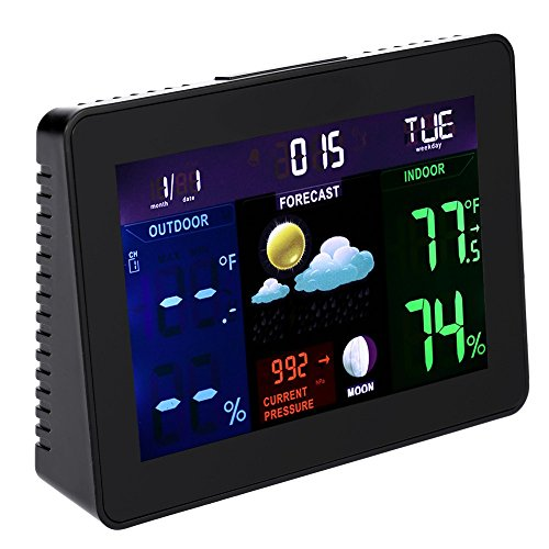 Hense Technology Color Vertical Wireless Forecast Station wi