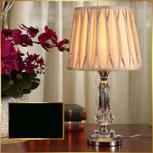 TIANTA-Table lamp Simple modern Nordic bedroom bedside lamp crystal table lamp luxury and warm ( Design : D ) by Dayweeky (Image #2)