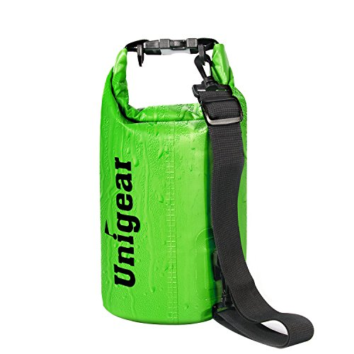 Dry Bag Sack, Waterproof Floating Dry Gear Bags for Boating, Kayaking, Fishing, (Removable Roller Buckle)