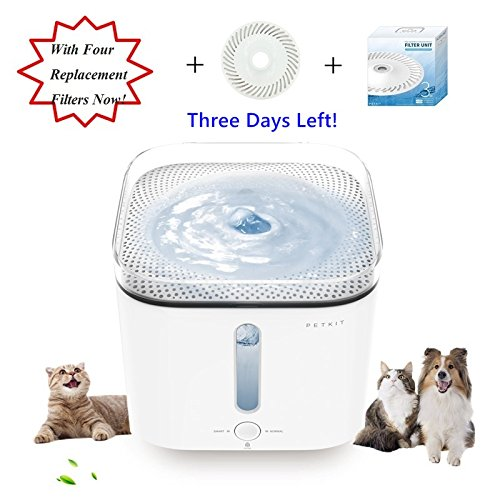PETKIT Ultra-Silent Pump Automatic Power-Off Pet Drinking Fountain Water-Shor...