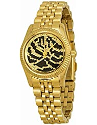 Michael Kors Womens MK3300 - Petite Lexington Gold/Black Watch