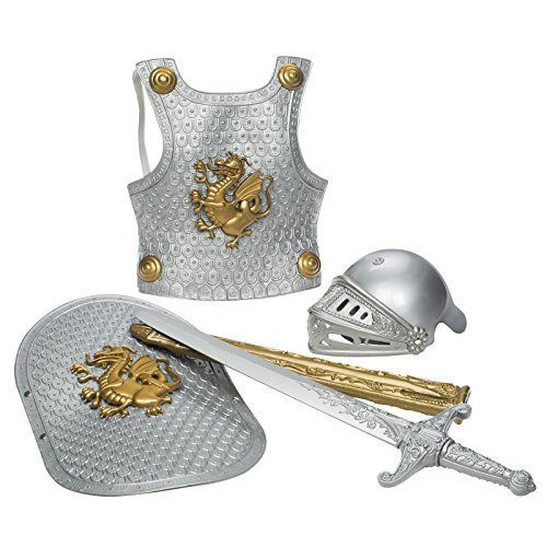 Toysmith Deluxe Knight in Shining Armor Set, Assorted Colors