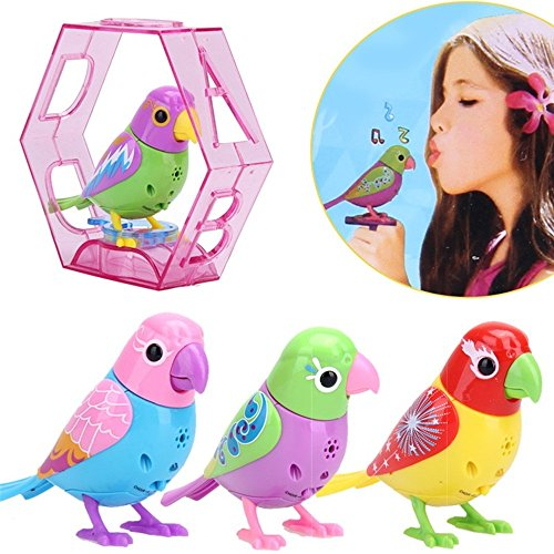 Angelwing Bird Electric Toy 20 Songs Singing Sound intelligent Music Toys Digibirds Music