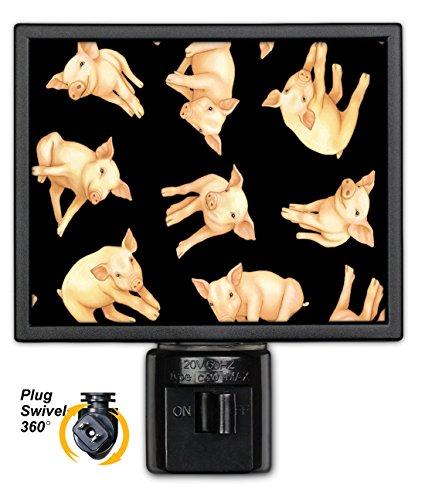Art Plates NL-497 Piglets Night Light
