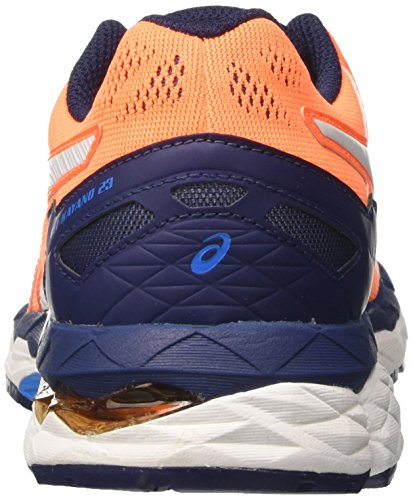 Asics Kinder-Unisex Gel-Kayano 23 GS Turnschuhe Orange (Shocking Orange/white/indigo Blue)