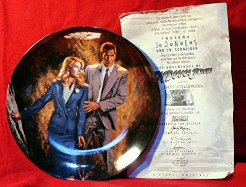 Indiana Jones The Last Crusade: Dr. Schneider Collector Plate