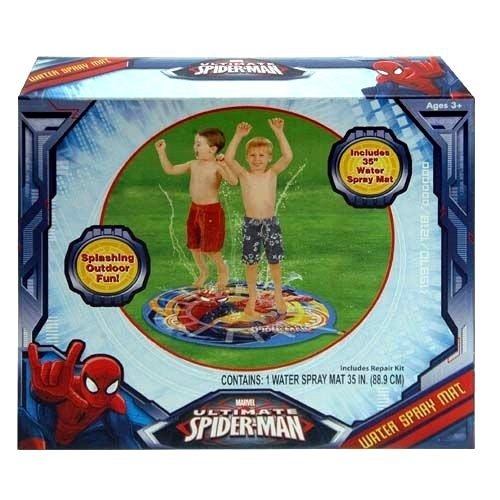 "Water Spray Mat - Marvel - Spiderman 35"" (Summer Swimming Game)"
