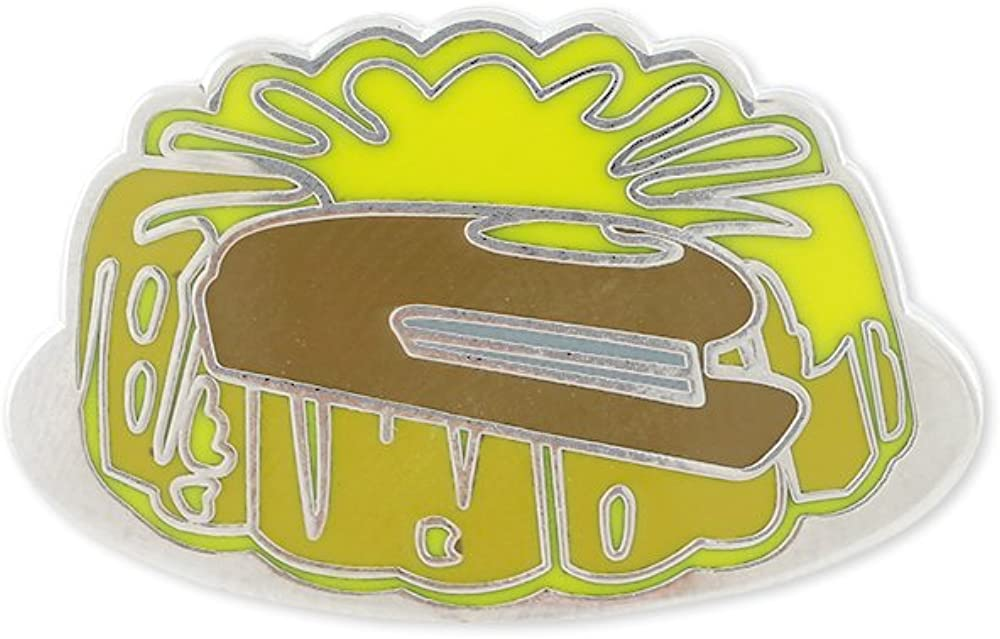 Stapler in Jello Hard Enamel Lapel Pin (1 Pin)