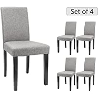 Furmax Dining Chairs Urban Style Fabric Parson Chair...