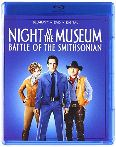 Blu-ray : Night At The Museum: Battle Of The Smithsonian (Blu-ray)