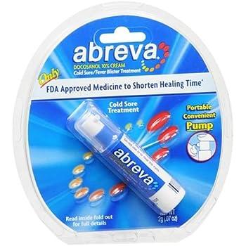 Amazon com: Abreva Docosanol 10% Cream Pump, Only FDA