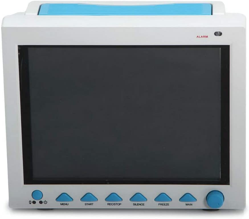 SISHUINIANHUA CMS8000 FP Paciente Veterinaria Monitor de Signos vitales capnógrafo 7 parámetro + ETCO2 UCI