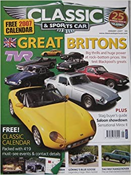 Classic Sportscar Magazine Back Issue TVR Range Rover - Classic and sportscar magazine