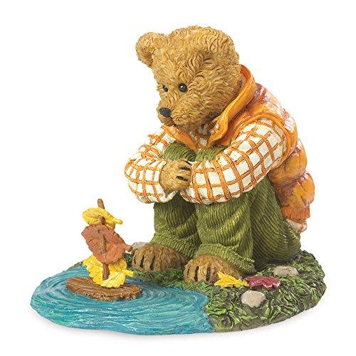 Boyds Resin Fall Season Autumn Bear Ashton McLeaf Figurine
