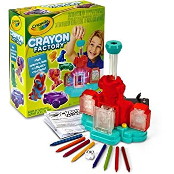 Crayola Crayon Factory, Kids Activity Toy, Create Custom Crayons, Great Gift for Kids