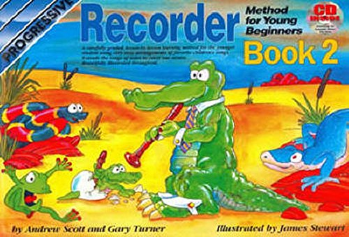 CP18338 - Progressive Recorder Method for Young Beginners: Book 2 (Progressive Young Beginners)