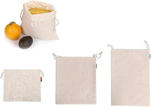 Fanclande Bolsas De Productos Reutilizables, Cordón De ...