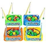 DollarItemDirect 3.5'' Wind UP Fishing Game, Case of 96