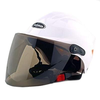 Moto Scooter casque de sécurité 302Blanc