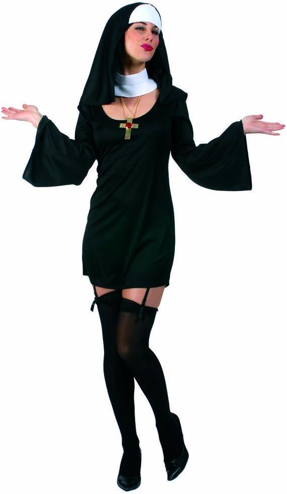 Disfraz monja sexy Ursula 40 42: Amazon.es: Juguetes y juegos