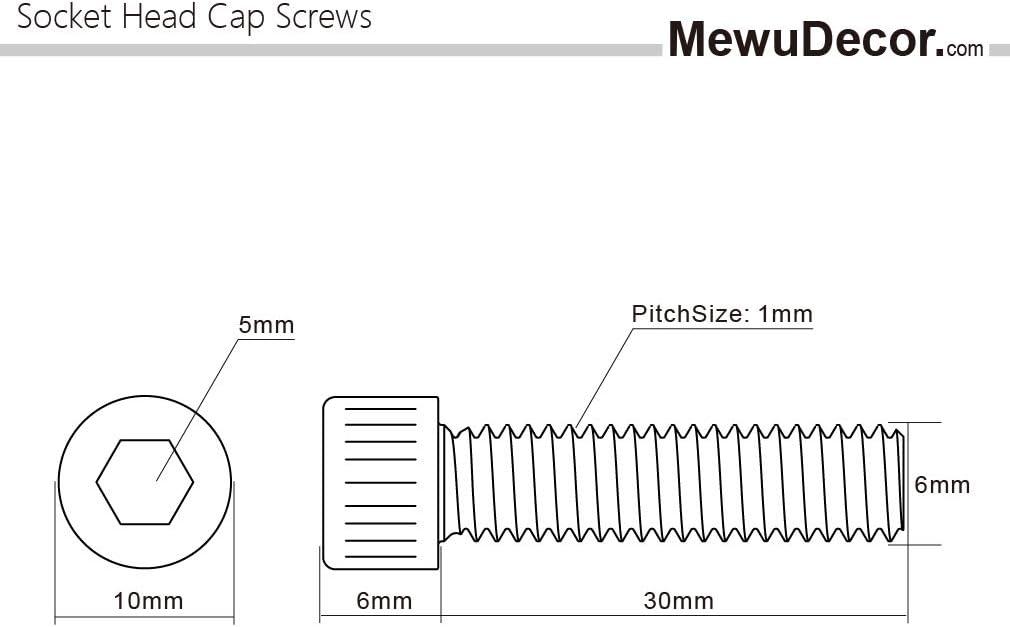 Quantity: 30 Surface: Black Oxide M10-1.5 x 12mm Socket Head Shoulder Screws Class 12.9 Plain Finish Length: 12 ISO 7379 Class 12.9 Diameter: 10