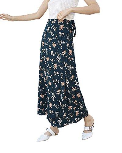 t Jupe 6 Imprim Longue Casual Femme Jupe Shaoyao Chic Plage Fleur Bohmien Maxi qaz4x5COBw
