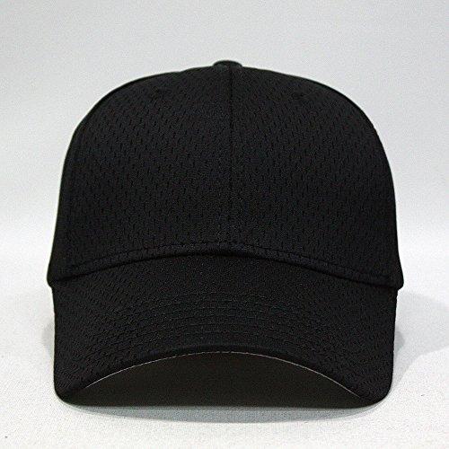 Plain Pro Cool Mesh Low Profile Baseball Cap With
