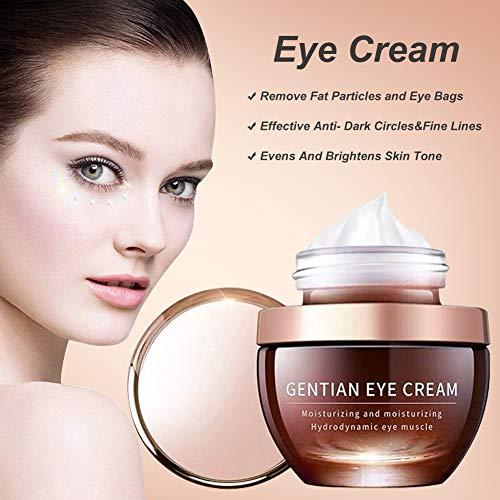 51nu40byvvL - Under Eye Cream, Under Eye Bags Treatment, Anti Aging Eye Cream, Eye Repair Cream to Reduce Eye Bags/Dark Circles/Wrinkles/Fine Lines/Fat Granule