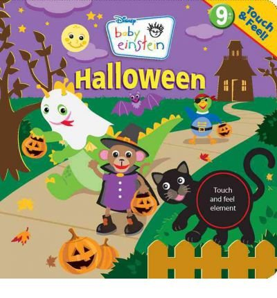 Baby Einstein: Touch & Feel Halloween (Baby Einstein (Board Books)) (Board book) - Common for $<!---->