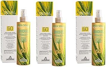 Specchiasol – verattiva Protección Solar Spray Spf 50 3 paquetes ...