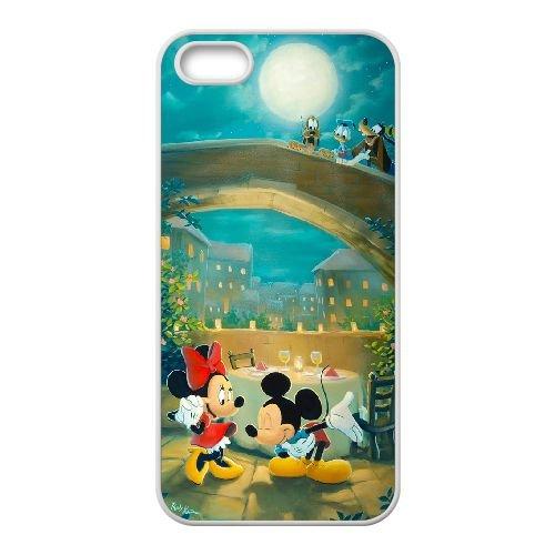 Mickey And Minnie 002 coque iPhone 4 4S Housse Blanc téléphone portable couverture de cas coque EOKXLKNBC26554