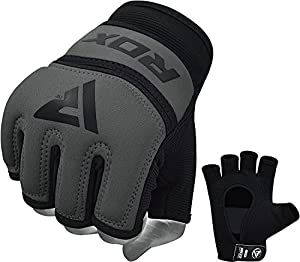 RDX Gel MMA Grappling Gloves Cage UFC Fighting Inner Sparring Glove Training