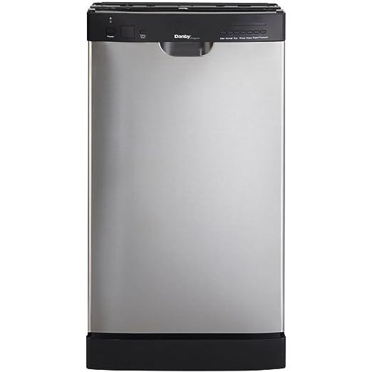 Amazon.com: Danby ddw1899bls lavaplatos 18-Inch integrado ...