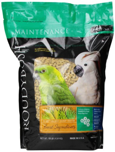 Roudybush 210Mddm Daily Maintenance Bird Food, Medium, 10-Pound ()