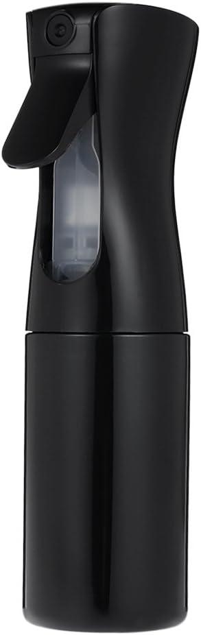 Anself Botella Frasco de Spray Pulverizador de Agua para Peluquería para Salón (150ml, negro)