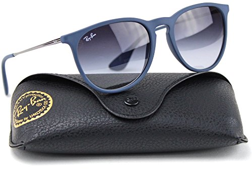 Ray-Ban RB4171 60028G Erica Sunglasses Blue Frame / Gray Gradient - Gradient Ray Ban Gray Blue