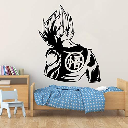 tzxdbh Vinilo de Dibujos Animados Tatuajes de Pared Dragon Ball Z ...