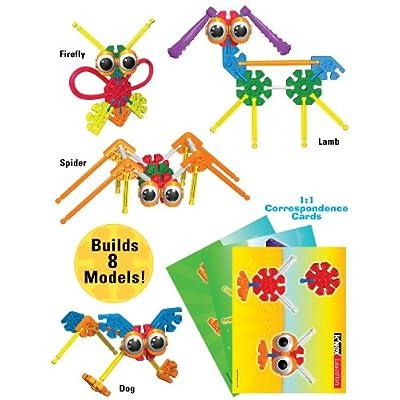 K'NEX Education – Kid K'NEX Group Building Set – 131 Pieces – Ages 3+ – Preschool Educational Toy: Industrial & Scientific