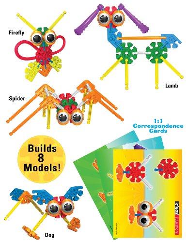51nu6Vk UML - K'NEX Education - Kid K'NEX Group Building Set - 131 Pieces - Ages 3+ - Preschool Educational Toy