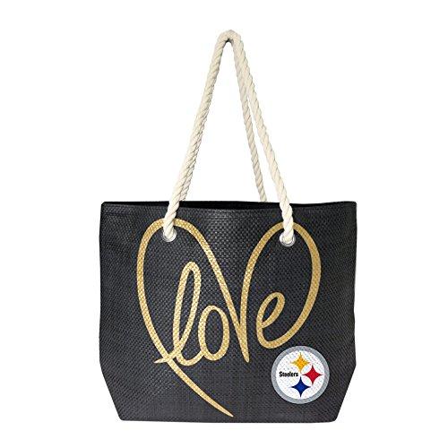 - NFL Pittsburgh Steelers Rope Tote Bag