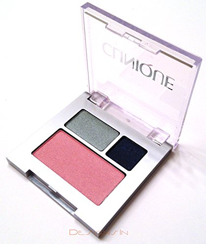 Clinique Mirror - Clinique All About Shadow Duo + Blush Small Colour Compact (09 Smoke and Mirrors, 08 Wave after Wave, 08 Cupid)